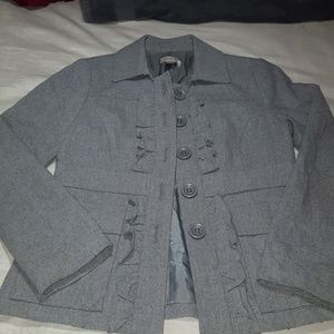 Recycled wool jacket